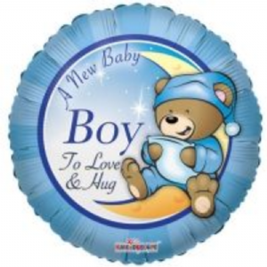 "BABY BOY BALLOON 18""  19147-18"